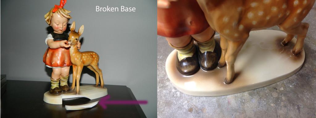porcelain figurine repair